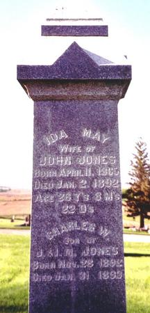 JONES, IDA MAY - Ida County, Iowa | IDA MAY JONES