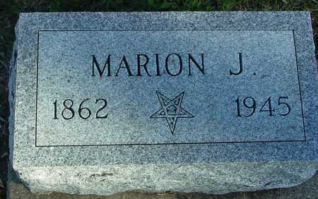 JONES, MARION J. - Ida County, Iowa | MARION J. JONES