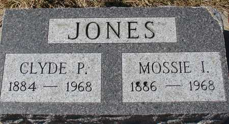 JONES, MOSSIE I. - Ida County, Iowa | MOSSIE I. JONES