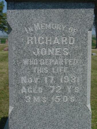 JONES, RICHARD - Ida County, Iowa | RICHARD JONES