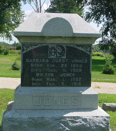 JONES, WILSON - Ida County, Iowa | WILSON JONES