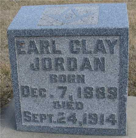 JORDAN, EARL CLAY - Ida County, Iowa | EARL CLAY JORDAN