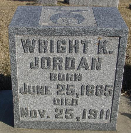 JORDAN, WRIGHT K. - Ida County, Iowa | WRIGHT K. JORDAN