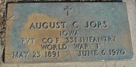 JORS, AUGUST C. - Ida County, Iowa | AUGUST C. JORS