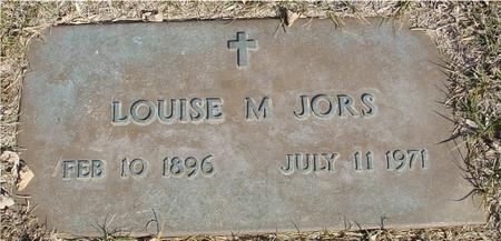 JORS, LOUISE M. - Ida County, Iowa | LOUISE M. JORS