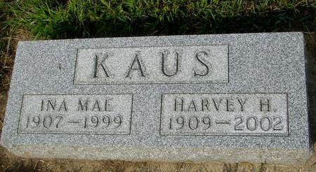 KAUS, HARVEY & INA MAE - Ida County, Iowa | HARVEY & INA MAE KAUS