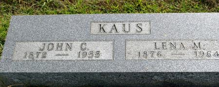 KAUS, JOHN & LENA - Ida County, Iowa | JOHN & LENA KAUS