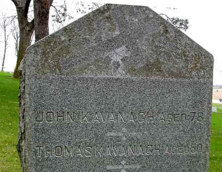 KAVANAUGH, JOHN & THOMAS - Ida County, Iowa   JOHN & THOMAS KAVANAUGH