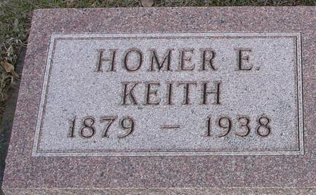KEITH, HOMER E. - Ida County, Iowa | HOMER E. KEITH