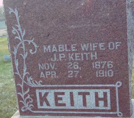 KEITH, MABLE - Ida County, Iowa | MABLE KEITH