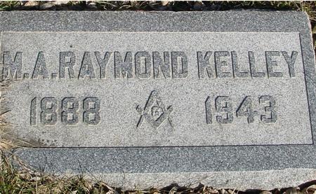 KELLEY, M. A. RAYMOND - Ida County, Iowa | M. A. RAYMOND KELLEY