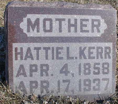KERR, HATTIE L. - Ida County, Iowa | HATTIE L. KERR