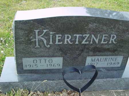 KIERTZNER, OTTO & MAURINE - Ida County, Iowa | OTTO & MAURINE KIERTZNER