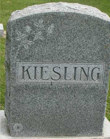 KIESLING, FAMILY MARKER - Ida County, Iowa | FAMILY MARKER KIESLING