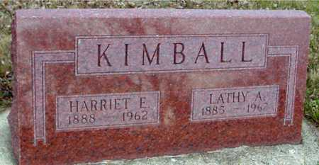 KIMBALL, LATHY & HARRIET - Ida County, Iowa | LATHY & HARRIET KIMBALL