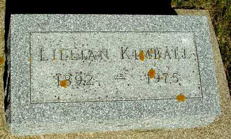KIMBALL, LILLIAN - Ida County, Iowa | LILLIAN KIMBALL