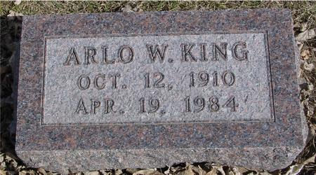 KING, ARLO W. - Ida County, Iowa | ARLO W. KING