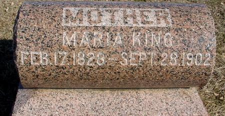 KING, MARIA - Ida County, Iowa | MARIA KING