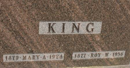 KING, ROY W. - Ida County, Iowa | ROY W. KING