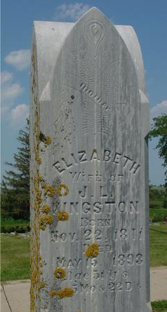 KINGSTON, ELIZABETH - Ida County, Iowa | ELIZABETH KINGSTON