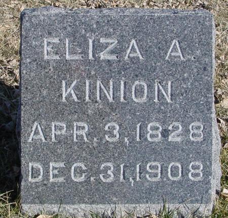 KINION, ELIZA A. - Ida County, Iowa | ELIZA A. KINION