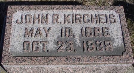KIRCHEIS, JOHN R. - Ida County, Iowa | JOHN R. KIRCHEIS