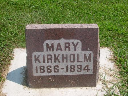 KIRKHOLM, MARY - Ida County, Iowa | MARY KIRKHOLM