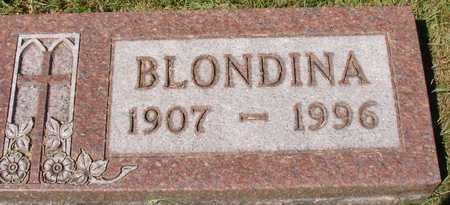 KISTENMACHER, BLONDINA - Ida County, Iowa | BLONDINA KISTENMACHER