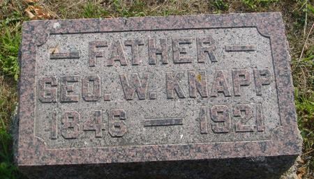 KNAPP, GEORGE W. - Ida County, Iowa | GEORGE W. KNAPP