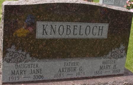 KNOBELOCH, MARY JANE - Ida County, Iowa | MARY JANE KNOBELOCH