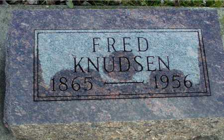 KNUDSEN, FRED - Ida County, Iowa | FRED KNUDSEN