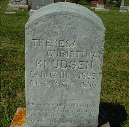 KNUDSEN, THERESA CHRISTINA - Ida County, Iowa | THERESA CHRISTINA KNUDSEN