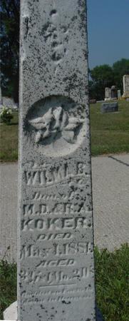 KOKER, WILMAR - Ida County, Iowa | WILMAR KOKER