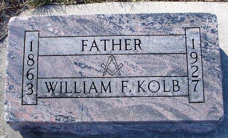 KOLB, WILLIAM F. - Ida County, Iowa | WILLIAM F. KOLB