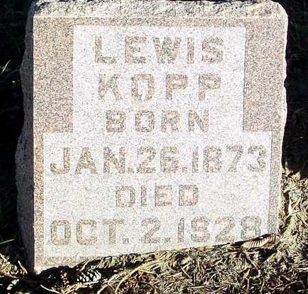 KOPP, LEWIS - Ida County, Iowa | LEWIS KOPP