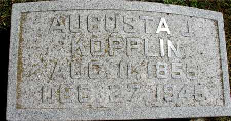 KOPPLIN, AUGUSTA J. - Ida County, Iowa | AUGUSTA J. KOPPLIN