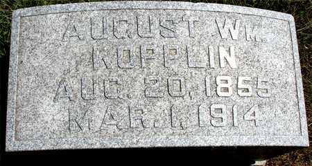 KOPPLIN, AUGUST WILLIAM - Ida County, Iowa | AUGUST WILLIAM KOPPLIN