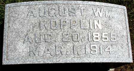 KOPPLIN, AUGUST WILLIAM - Ida County, Iowa | AUGUST WILLIAM KOPPLIN