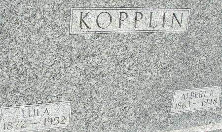 KOPPLIN, ALBERT F. - Ida County, Iowa   ALBERT F. KOPPLIN