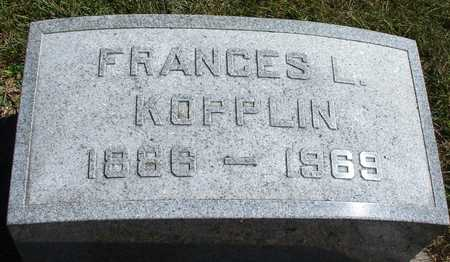KOPPLIN, FRANCES L. - Ida County, Iowa | FRANCES L. KOPPLIN
