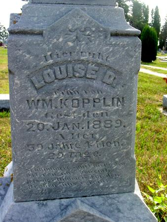 KOPPLIN, LOUISE D. - Ida County, Iowa | LOUISE D. KOPPLIN