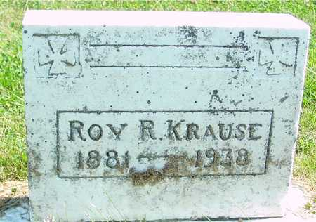 KRAUSE, ROY R. - Ida County, Iowa | ROY R. KRAUSE