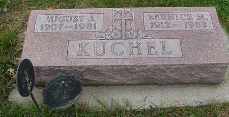 KUCHEL, AUGUST & BERNICE - Ida County, Iowa | AUGUST & BERNICE KUCHEL