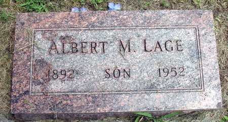 LAGE, ALBERT M. - Ida County, Iowa | ALBERT M. LAGE