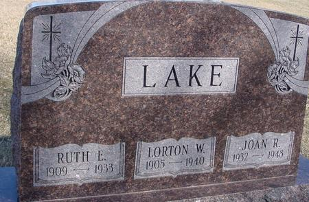 LAKE, LORTON & RUTH - Ida County, Iowa | LORTON & RUTH LAKE