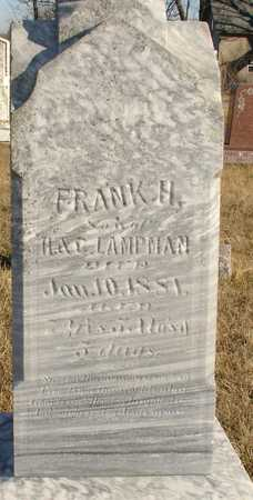 LAMPMAN, FRANK H. - Ida County, Iowa | FRANK H. LAMPMAN