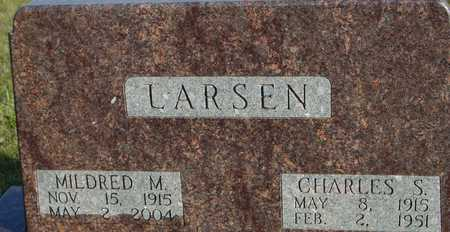 LARSEN, CHARLES & MILDRED - Ida County, Iowa | CHARLES & MILDRED LARSEN