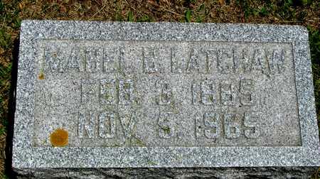 LATCHAW, MABEL B. - Ida County, Iowa | MABEL B. LATCHAW