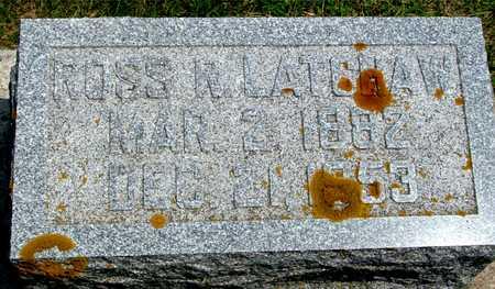 LATCHAW, ROSS R. - Ida County, Iowa   ROSS R. LATCHAW