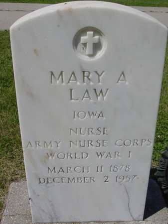 LAW, MARY A. - Ida County, Iowa | MARY A. LAW